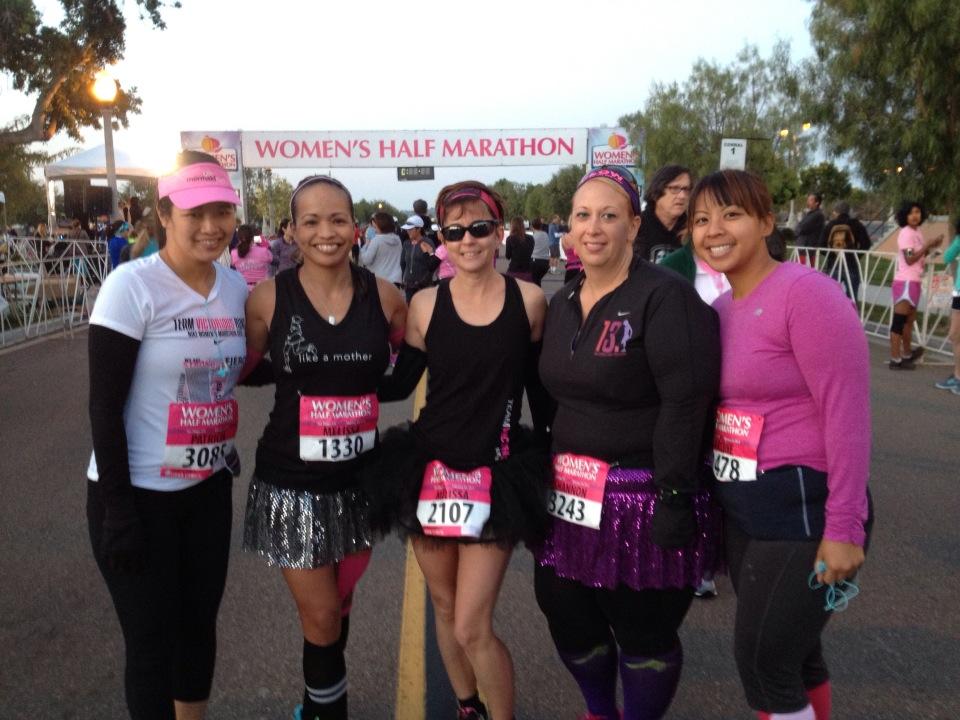 The Running Joke – Women's Half Marathon {Recap}