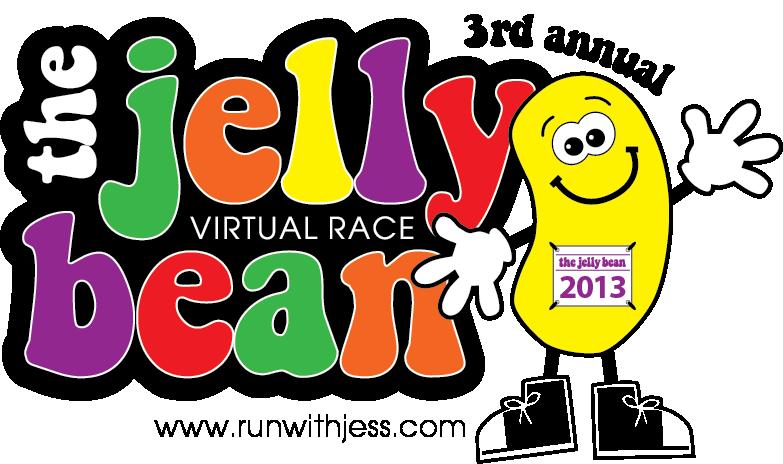 Jelly Bean (Virtual) Race Recap