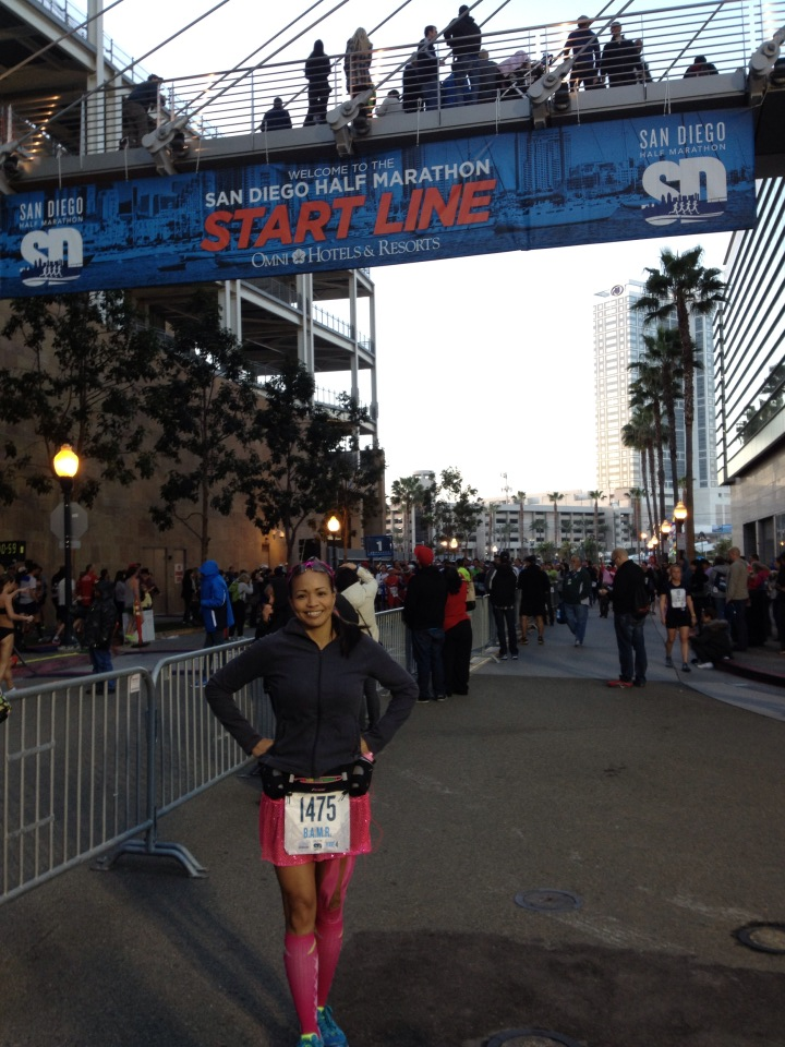 San Diego Half Marathon {Race Recap}