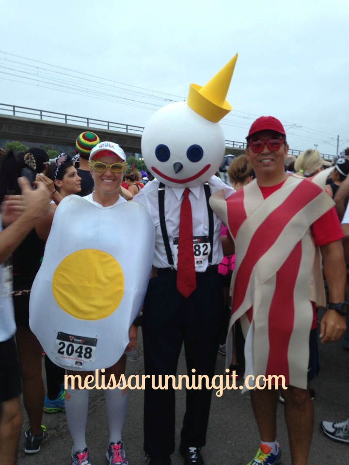 Costume Party Half Breakfast Runners